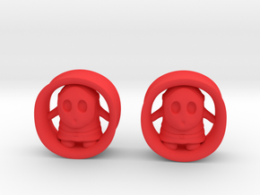 "Shy Guy 7/8""G set in Red Processed Versatile Plastic"