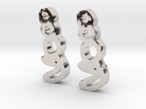 sailor moon earrings 2 in Platinum