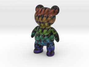 Teddy Bear - Crayon in Full Color Sandstone