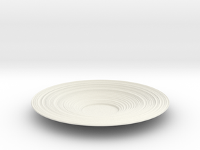 Bowl 33 in White Natural Versatile Plastic