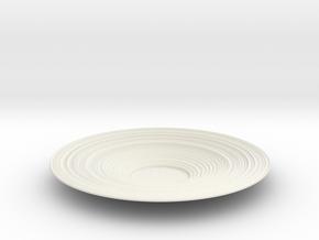 Bowl 25 in White Natural Versatile Plastic