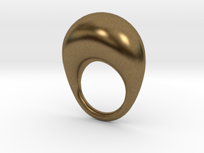 BulgeRingD20mm in Natural Bronze