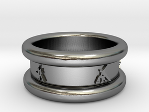 Salsa Ring 1 Ø 18.2 mm 57 in Polished Silver