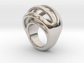 RING CRAZY 16 - ITALIAN SIZE 16 in Platinum