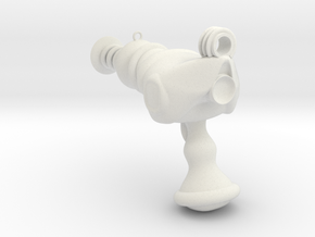 Raygun in White Natural Versatile Plastic
