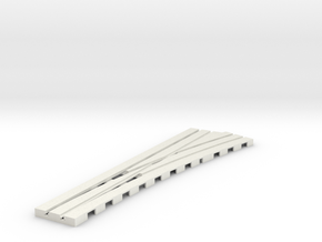 P-9stp-right-point-565r-100-pl-1a in White Natural Versatile Plastic