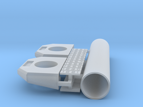 CNR/PEIR N Scale Concrete Single Culverts in Smooth Fine Detail Plastic