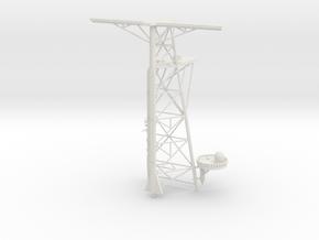 1/72 Tico Mast #2 - Main Mast in White Natural Versatile Plastic