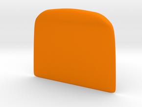 Dough cutter in Orange Processed Versatile Plastic