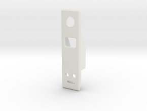 SX350 B Box Side Insert 12mm Switch W up/down in White Natural Versatile Plastic