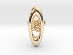 variation on a jweel ring i designed in 14k Gold Plated Brass