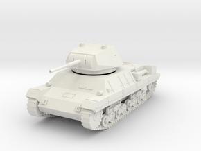 PV60A Italian P40 Heavy Tank (28mm) in White Natural Versatile Plastic