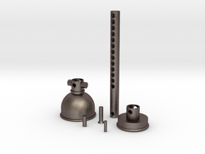 Extrudable Restorer in Polished Bronzed Silver Steel