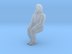 Gemini Astronaut 1:24 (Revell Version) in Smooth Fine Detail Plastic