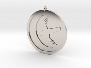 Arryn Pendant in Rhodium Plated