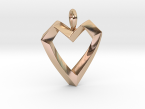 Impossible Love Pendant in 14k Rose Gold