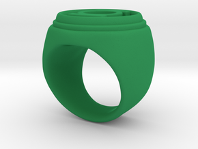 Green Lantern Ring - Size 6.5 in Green Processed Versatile Plastic
