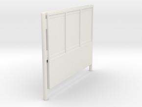 1/48 - DSB K74 Reklameskilt (3 reklamer) in White Strong & Flexible