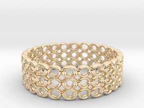 Ring Bracelet in 14K Yellow Gold