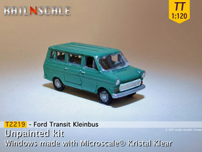 Ford Transit Kleinbus (TT 1:120) in Smooth Fine Detail Plastic