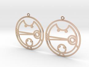 Camesha - Earrings - Series 1 in 14k Rose Gold