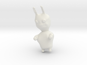 Rabbid in White Natural Versatile Plastic