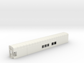 N Scale Rocky Mountaineer A Series - No Platform in White Natural Versatile Plastic