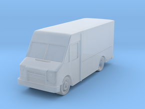 "Delivery Truck at 1""=16' Scale in Smooth Fine Detail Plastic"