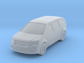 "Minivan at 1""=8' Scale in Smooth Fine Detail Plastic"