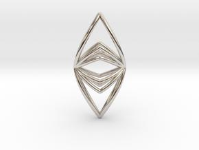Silk Hand No.090 ,Pendant in Platinum