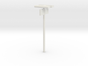 DSB Stations lampe med perronafsnit (dobbelt) VIA  in White Strong & Flexible