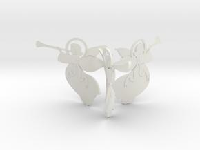 Angel X 3 Assem in White Strong & Flexible