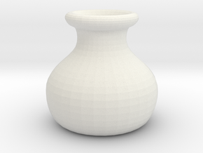 Simple Pot in White Strong & Flexible