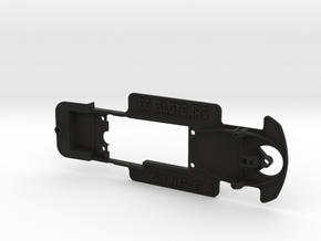 Scalextric StockCar Chassis - 2 Hole mounting in Black Strong & Flexible
