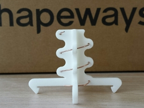 5.8ghz Helical Antenne 3 Turn RHCP 2015 in White Natural Versatile Plastic