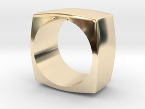 The Minimal Ring in 14K Yellow Gold