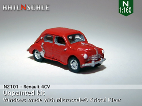 Renault 4CV (N 1:160) in Smooth Fine Detail Plastic