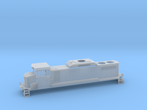 GP20D HO Scale in Smooth Fine Detail Plastic