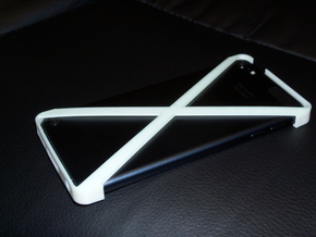Ipod Touch - 5th Generation - Minimalistic Cover in White Natural Versatile Plastic