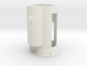 Getriebehaus in White Natural Versatile Plastic