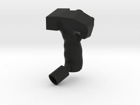 Blackhawk Grip Shelled in Black Natural Versatile Plastic