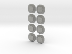 Minen XO in Metallic Plastic