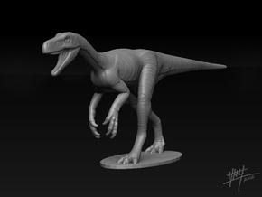 Herrerasaurus 1/40 in White Natural Versatile Plastic