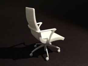 Aspen Executive  1-12 Scale in White Natural Versatile Plastic