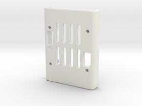 AUAVX2 Case top in White Natural Versatile Plastic