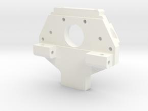 91 Cutaway Rear Bulkhead in White Strong & Flexible Polished