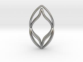 sWINGS M, Pendant. Pure Elegance. Perfect Comfort. in Natural Silver