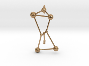 Orion Pendant in Polished Brass