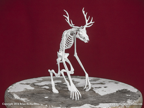 Wendigo Skeleton in White Strong & Flexible