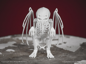 Cthulhu in White Strong & Flexible